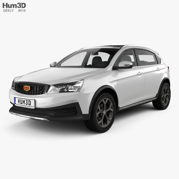 Geely Vision S1 2018 3D model