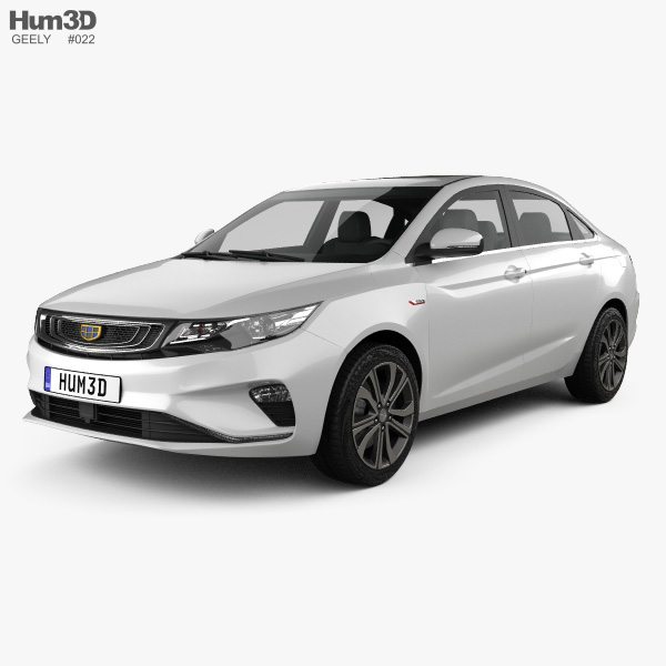 Geely Emgrand GL 2018 3D model