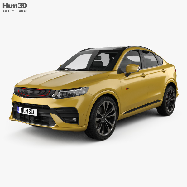 Geely Xing Yue 2019 3D model