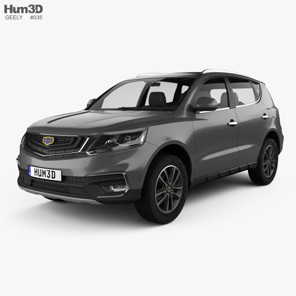 Geely Vision SUV 2018 3D model