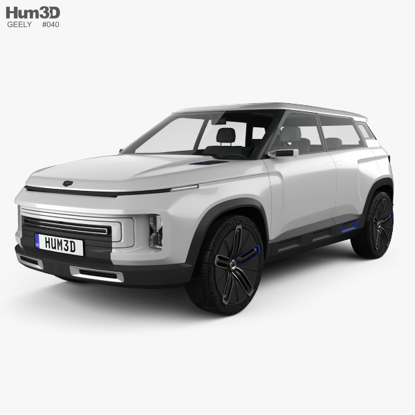 Geely Icon 2020 3D model