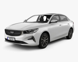Geely Emgrand 2021 3D model