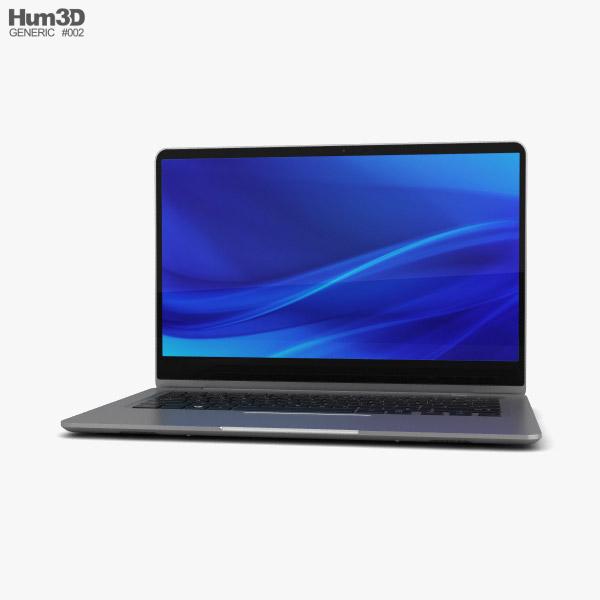 Generic Laptop 3D model