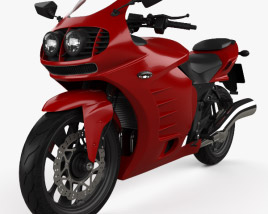 3D model of Generic Sport Bike 2014