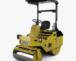 3D model of Generic Small Asphalt Compactor