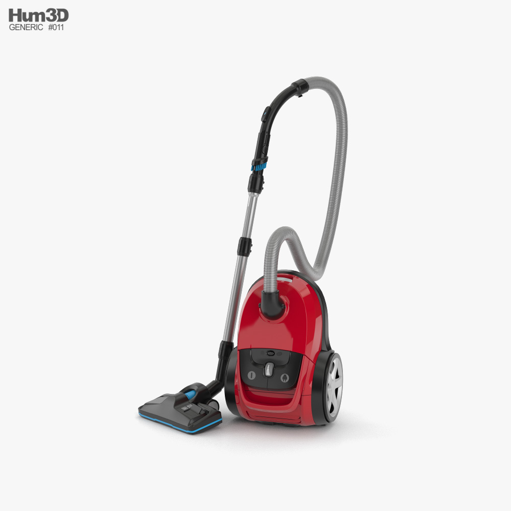 Generic Vacuum Cleaner 3d model