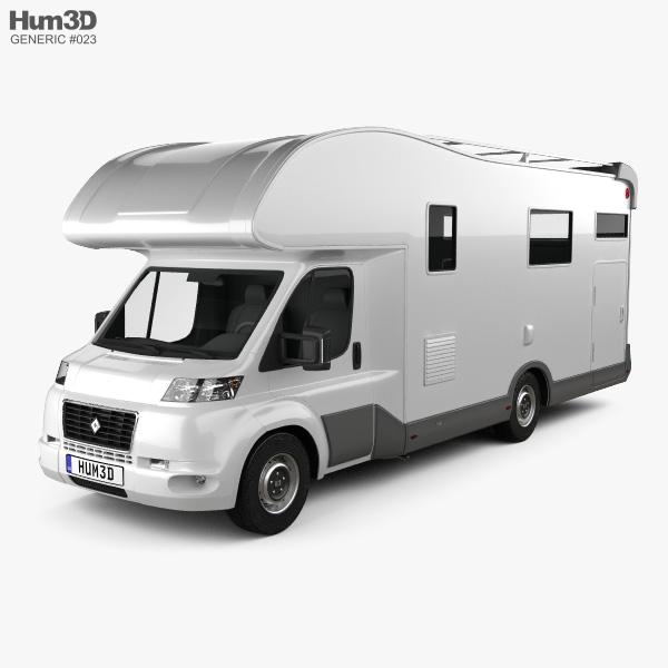 Generic Camper van 2019 3D model