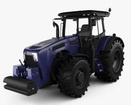 3D model of Generic Tractor 2020