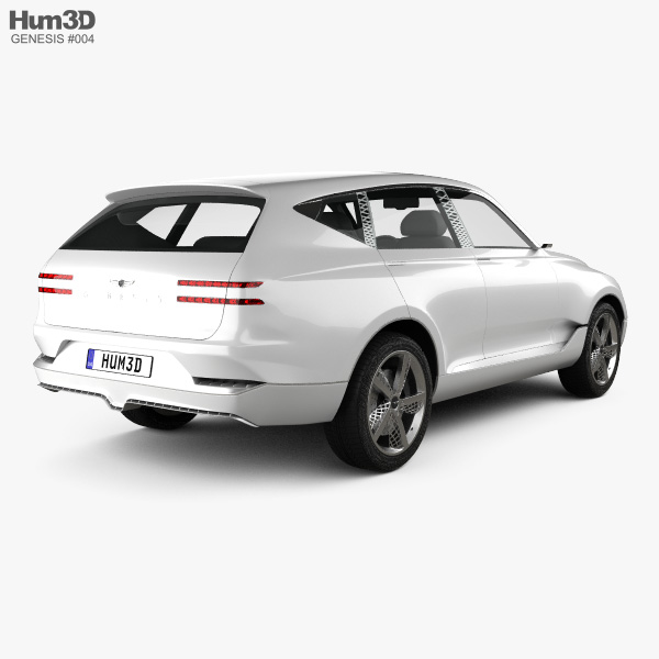 Genesis GV80 concept 2017 3D model