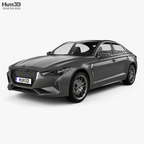 Genesis G70 2018 3D model