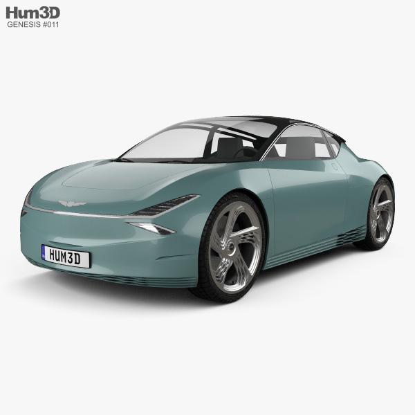 Genesis Mint 2019 3D model