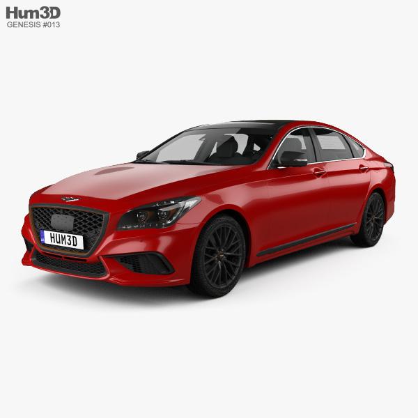 Genesis G80 Sport 2019 3D model