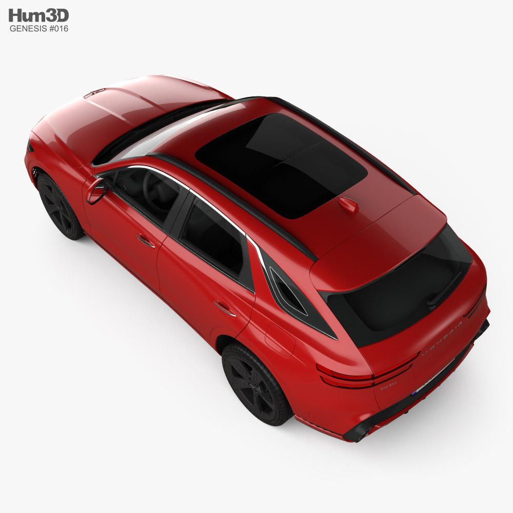 Genesis GV70 Sport 2021 3D model