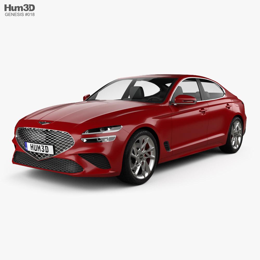 Genesis G70 2022 3D model