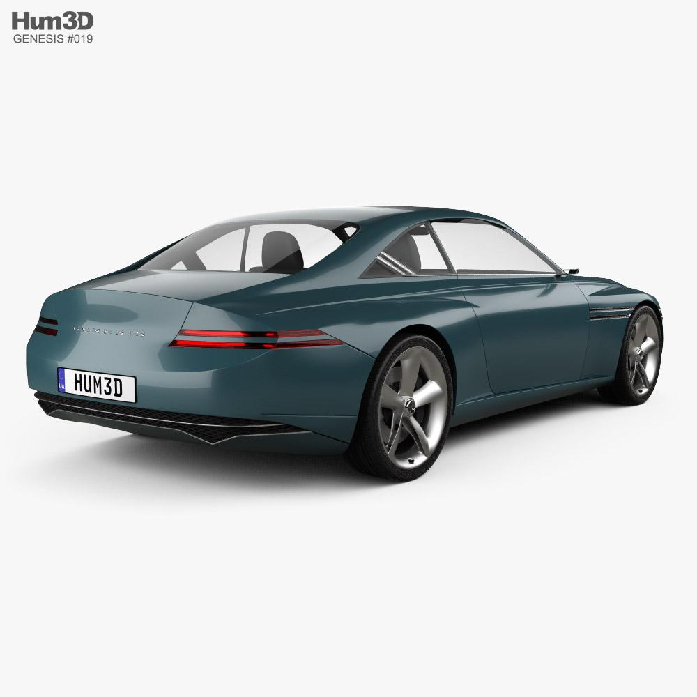 Genesis X 2021 3d model