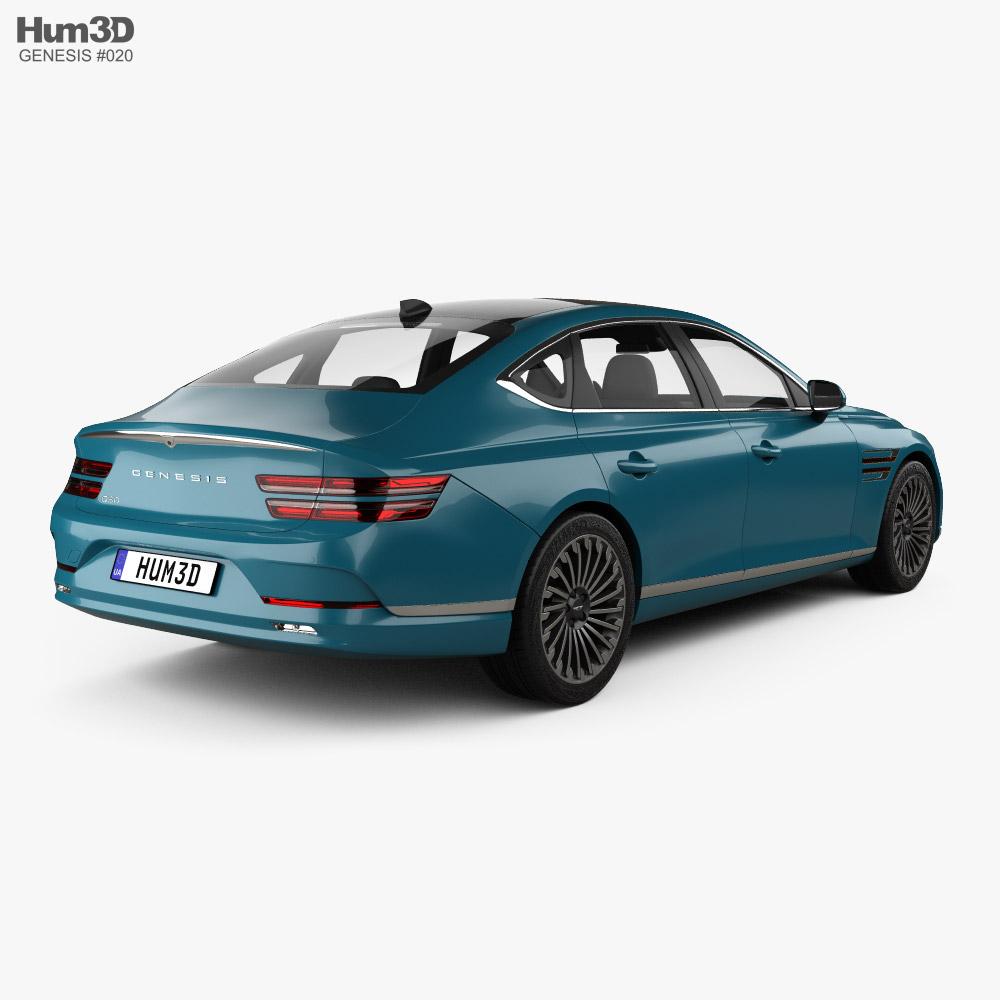 Genesis G80 Electrified 2022 3d model