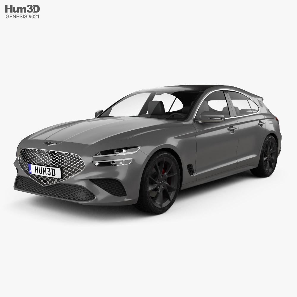 Genesis G70 Shooting Brake 2022 3D model