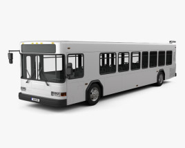 3D model of Gillig Low Floor Bus 2012