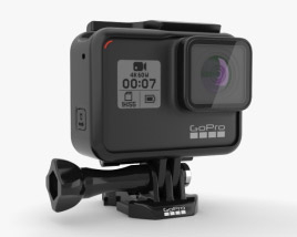3D model of GoPro HERO7