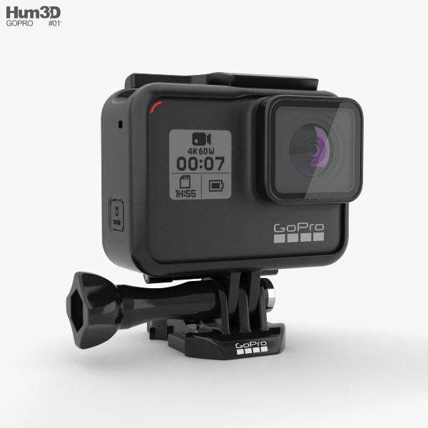GoPro HERO7 3D model