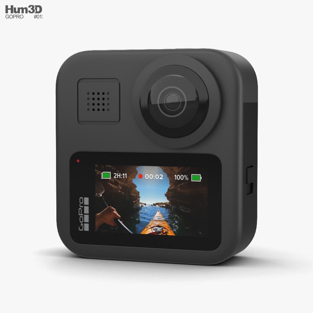 GoPro Max 3d model