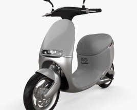 3D model of Gogoro Smartscooter 2015