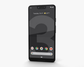 3D model of Google Pixel 3 XL Just Black