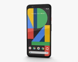 3D model of Google Pixel 4 Clearly White