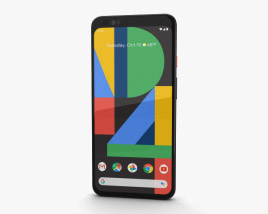 3D model of Google Pixel 4 XL Clearly White