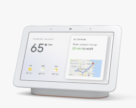 3D model of Google Nest Hub Chalk