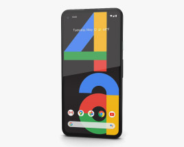 3D model of Google Pixel 4a Just Black