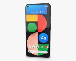 3D model of Google Pixel 4a 5G Just Black