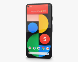 3D model of Google Pixel 5 Just Black