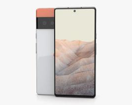 Google Pixel 6 Pro White 3D model