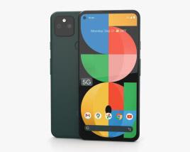 Google Pixel 5a 5G Mostly Black 3D model