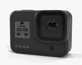 3D model of Gopro HERO8 Black