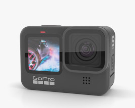 Gopro HERO9 Black 3D model
