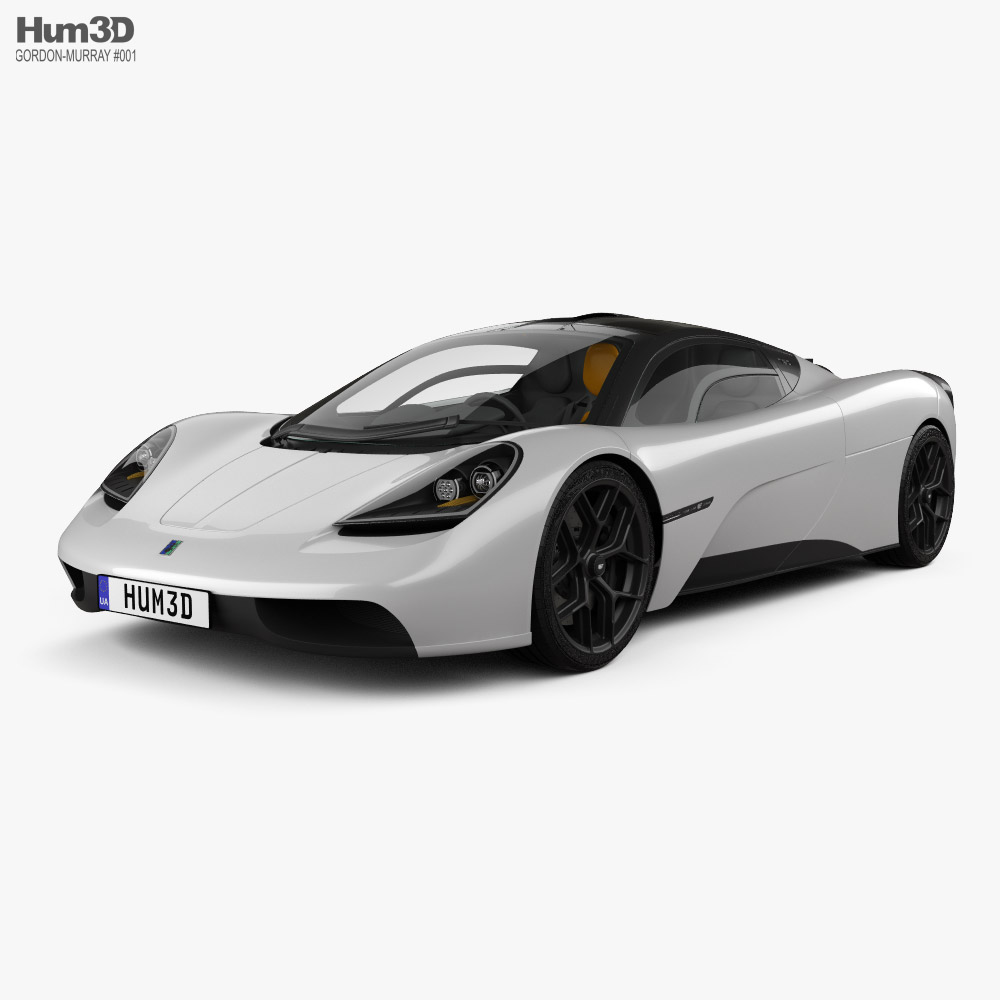 Gordon Murray T.50 2022 3D model