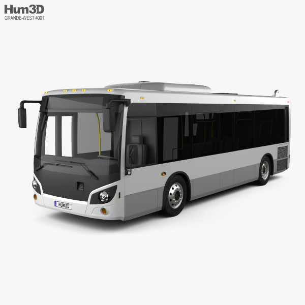 Grande West Vicinity Bus 2019 3D model