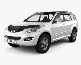 3D model of Great Wall Hover (Haval) H5 2010