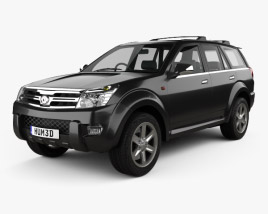 3D model of Great Wall Hover (Haval) H3 2010