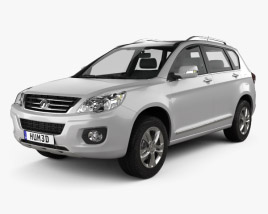 3D model of Great Wall Hover (Haval) H6 2013