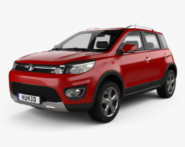 Great Wall Haval M4 2012 3D model