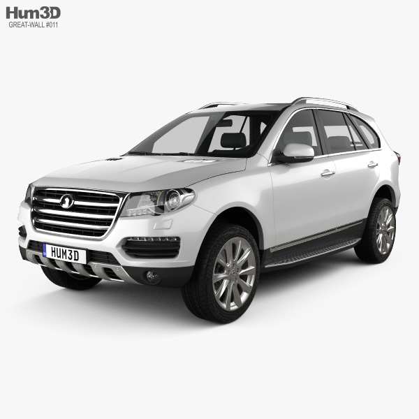 Great Wall Haval H8 2013 3D model