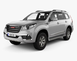 3D model of Great Wall Haval H9 2014