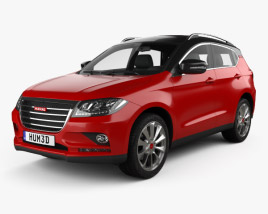 3D model of Great Wall Haval H2 2014
