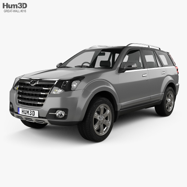 3D model of Great Wall Hover H3 2014
