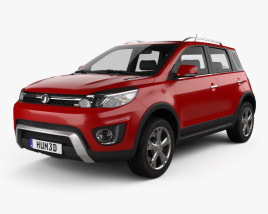 3D model of Great Wall Haval M4 2016