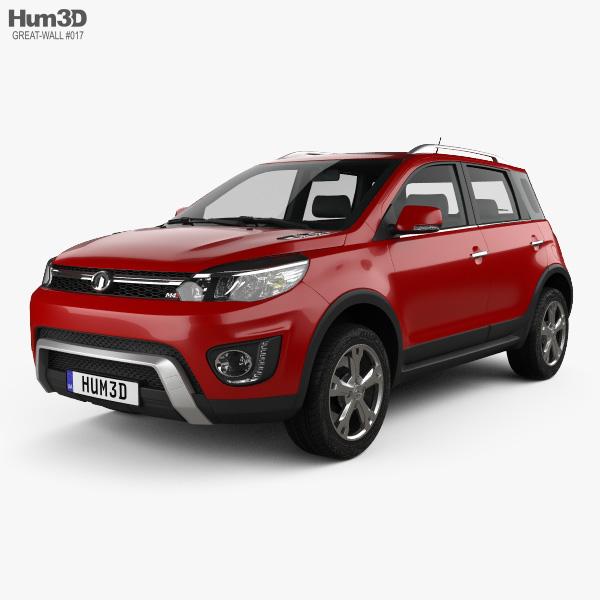 Great Wall Haval M4 2016 3D model