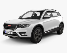 3D model of Great Wall Haval H6 2016